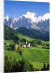 St. Magdalena in the Dolomites by Corbis