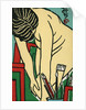 Matchbox Label with a Nude Model by Corbis