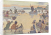 Book Illustration of Roger Williams at Narragansett Bay by E. Boyd Smith