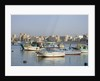 Fishing Boats in Alexandria Harbor by Corbis