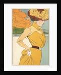 Autumn Fashion Postcard by Henri Meunier