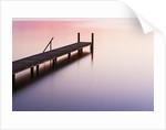 Footbridge at Lake Starnberg by Corbis