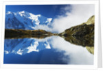 Aiguilles du Chamonix and Lac de Chesery by Corbis