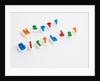 Happy Birthday Letters by Corbis