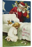 Best Christmas Wishes Postcard by Ellen H. Clapsaddle
