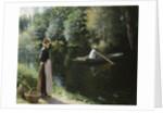 Boating by Leopold-Francois Kowalsky
