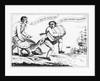 Cartoon: A Smuggler During the Embargo Act 1807-1809 by Corbis