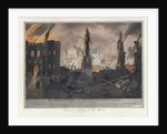 The Great Fire of London in the Year 1666 Print by Corbis