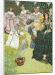 The Swineherd Illustration by Corbis