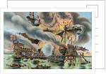 Illustration of the Battle of Saint-Mathieu by Corbis