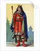 Portrait of Childebert III, King of Neustria and Burgundy by Corbis