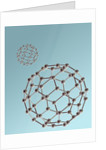 "Two Fullerenes or ""Buckyballs"" by Corbis"