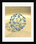 "Blue Fullerene or ""Buckyball"" by Corbis"