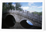Bridge at Dragon King Pool by Corbis