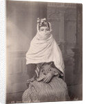 Young Woman in Traditional Middle Eastern Dress by Corbis