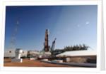 Soyuz on Launch Pad by Corbis