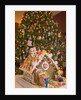 Gingerbread House and Christmas Tree by Corbis
