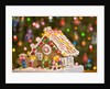 Gingerbread House at Christmas by Corbis