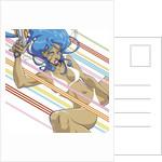 Anime Girl by Tristan Eaton