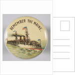 Remember The Maine Pin by Corbis