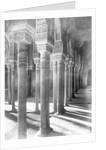 Columns in Alhambra Mosque by Corbis