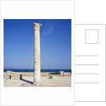Column at the Thermal Baths by Corbis