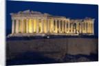 Athens Parthenon at Dusk by Corbis