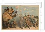 Wall Street Bubbles - Always the Same Cartoon by Corbis