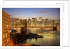 Brooklyn Bridge and Lower Manhattan From Brooklyn by Corbis