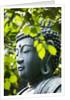 Buddha in Senso-ji Temple Garden by Corbis