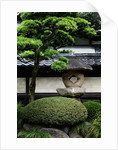 Garden in Senso-ji Temple by Corbis