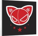 Robo Bat Flag by Tristan Eaton