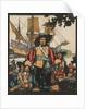 Illustration of Rene-Robert Cavelier de La Salle by J.L. Kraemer