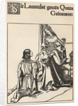 Sir Launcelot Greets Queen Guinevere by Howard Pyle