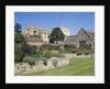 Garden at Christ Church College by Corbis