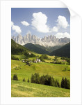 Funes Valley and the Dolomites by Corbis