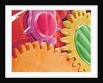Multicolored Watch Gears by Corbis