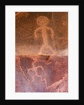 Petroglyphs in Zion National Park by Corbis