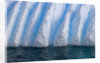 Floating Iceberg With Ridges by Corbis