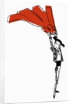 Toreador with Red Cape by Corbis