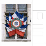 French Flags and Emblem by Corbis