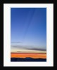 Colorful Clouds and Blue Evening Sky by Corbis
