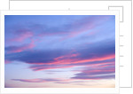Colorful Clouds in Evening by Corbis