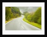 Winding Coastal Road Among Bush Covered Hills by Corbis
