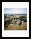 Goodrich Castle by River Wye by Corbis