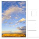 Sky Over Sandstone Butte by Corbis