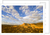 Clouds Over Buttes at Sunrise by Corbis