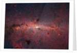 Center of Milky Way Galaxy from Spitzer Space Telescope by Corbis