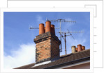 Chimney and Antennas by Corbis