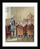 Illustration of George Washington Being Chosen as Commander in Chief by Corbis